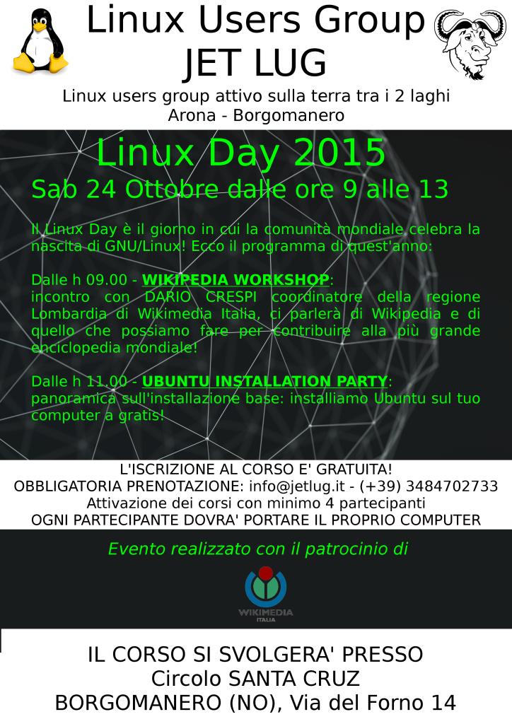 Linux Day 2015 WikiMedia